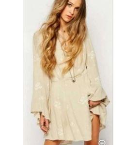 Free People Jasmine Mini Dress - XS